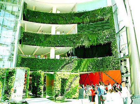 Живые вертикальные сады Парика Бланка