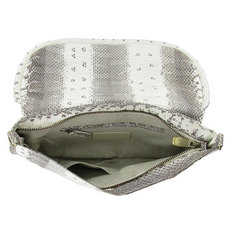 модная сумка из кожи водяной змеи на лето 2013