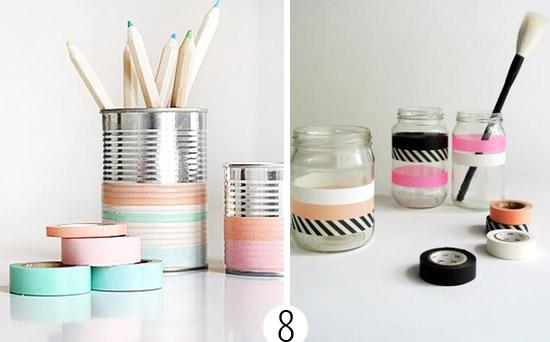 Как использовать декоративный скотч: 20 оригинальных идей