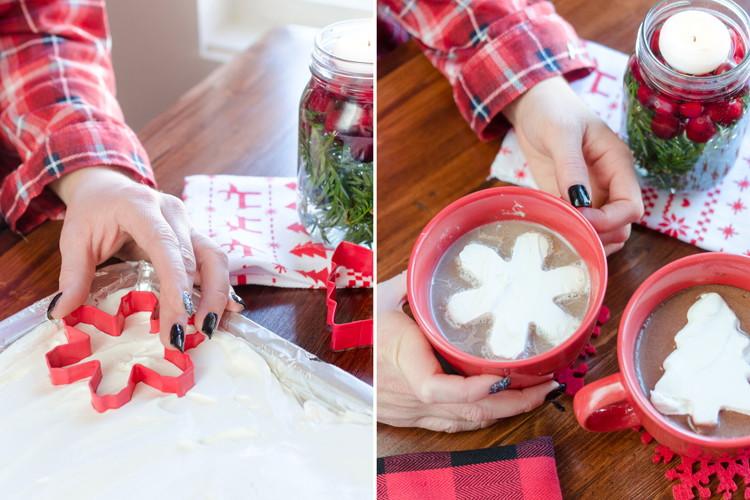 Как оригинально украсить новогоднее капучино дома?
