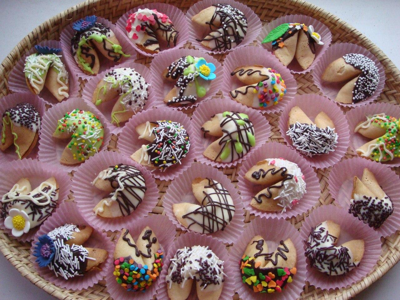 Печенье с предсказаниями рецепт как делать