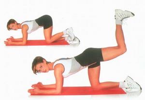 Ягодицы упражнения