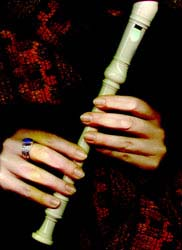 Блок-флейта. Постановка рук на блок-флейте