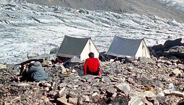 Как ставить палатку