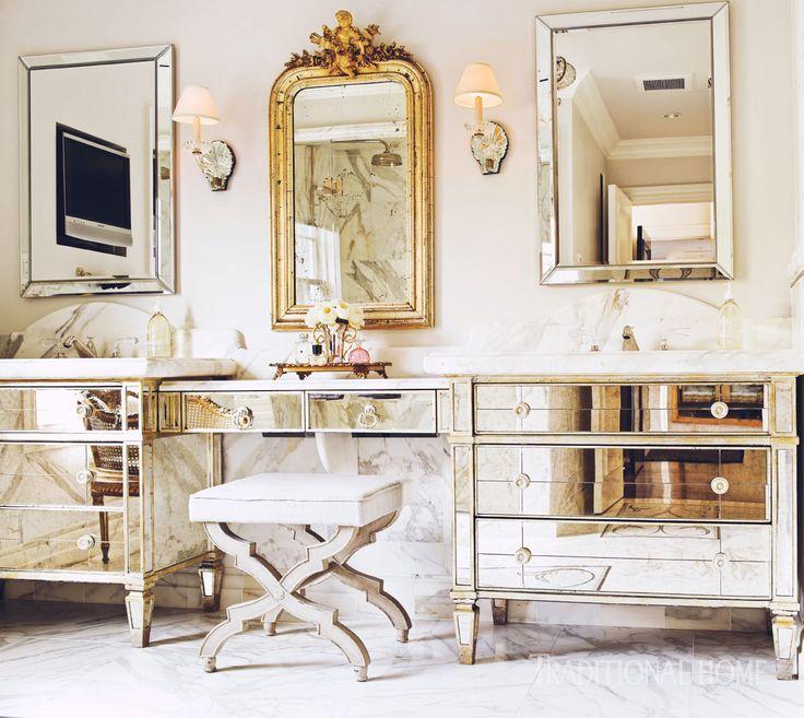 Как выбрать зеркало для интерьера в стиле прованс