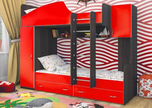 Как выбрать двухъярусную кровать для детей