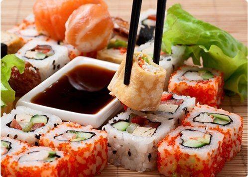 Как есть суши и роллы на заказ