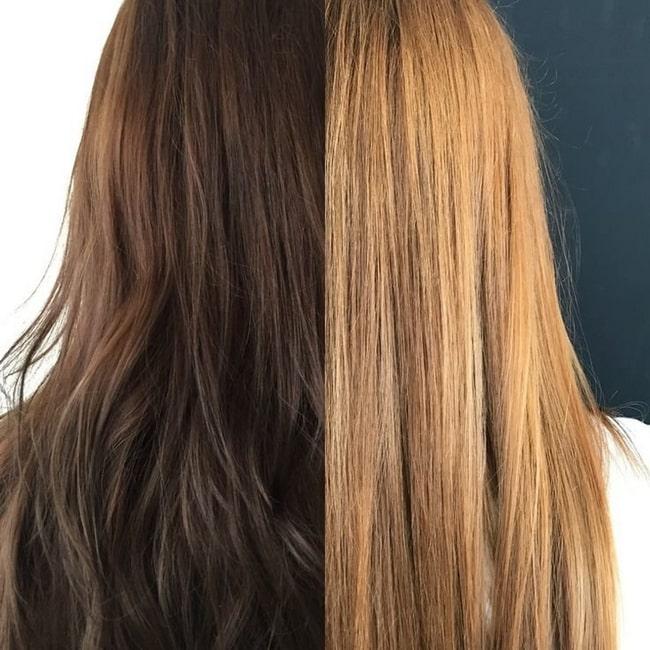 Как безопасно и эффективно удалить пигмент с волос. Лучшие профессиональные смывки для волос. Топ народных методов