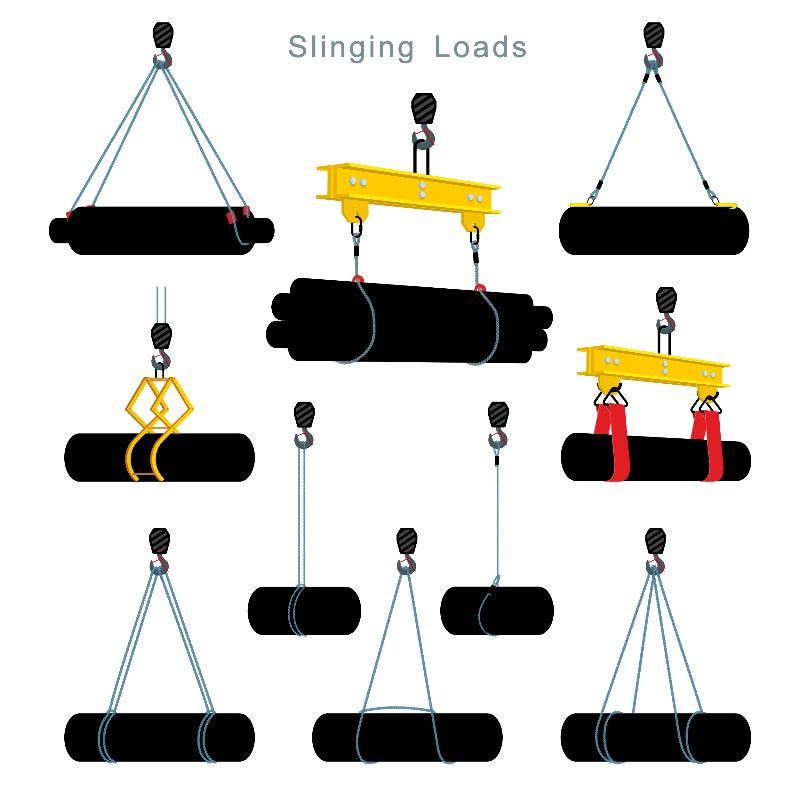 Как работают правила и схемы строповки грузов
